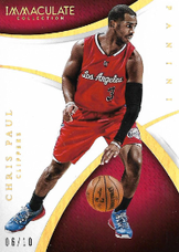 CHRIS PAUL / Immaculate Gold - No. 27  (#d 6/10)