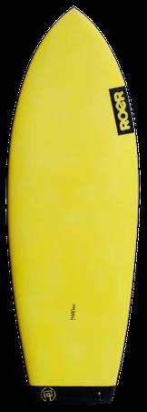 Frontansicht Flatheck Surfboard