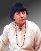 Portrait der Kunstmalerin Margrit Schweicher = Gretel Lauer