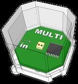 Cube-Dのマルチブロック