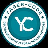 Yager-Code-Gütesiegel des Deutschen Instituts für Klinische Hypnose Bernd Veltmann Hypnose Pankow