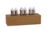 Oak Wood Nixie Clock