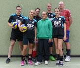 v. l. René, Corina, Dennis, Kathrin, Nick, Stella und Eric. Foto: W. Metschke