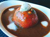 トマトとフレッシュモッツァレラのカレー 990円(税込)