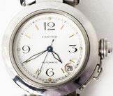 カルティエ パシャC スモールデイト  腕時計