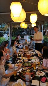 スタッフ会食(2015年7月31日)