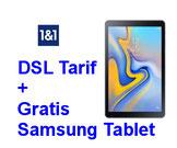 VDSL und Glasfaser Tarif mit Gratis Tablet bei 1 & 1 bestellen.