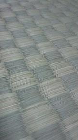 市松〈イチマツ〉模様の畳表(ござ)
