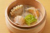 4種の海老蒸し餃子