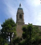 Campanile Chiesa di S. Francesco - Ingresso Bosco Mancinforte