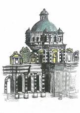 Le pavillon central (Source : Jacques GRELE)