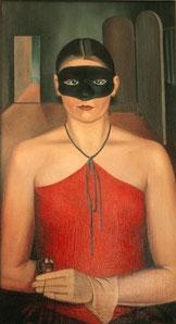 Eine Vertreterin der Neuen Sachlichkeit. Arno Hentschels 'Frau mit Maske'