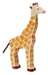 Die Giraffe-Tierfigur: Höhe ca. 25 cm von HOLZTIGER