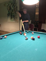 Poolen in Le Billard Belgrade