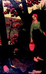 Paul Sérusier, Les porteuses d'eau ou La fatigue, 1897, huile sur toile, collection musée des beaux-arts de Brest métropole.