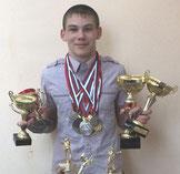Пименов Дмитрий, 8 класс