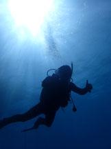 石垣島でのんびりダイビング「台風が去り」