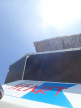 石垣島でのんびりダイビング「梅雨明けの日差し」