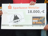 Lahnau rocks for Benefit bringt 18.000 Euro