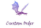 dragon fantasy custom order personalizzazioni