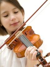 Allieva del Corso di Violino della scuola di Musica Suaviter di Roma