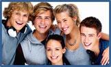 Traitements d'orthodontie adolescents