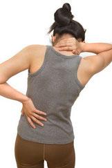 Rückenschmerz, Gelenkbeschwerden, Blockade, Schmerz, Skoliose, Dorn-Breuss-Therapie