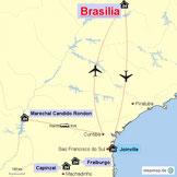 Bild: Karte Brasilien