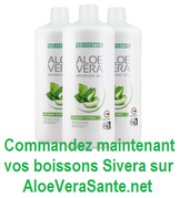 Commandez maintenant vos boissons aloe vera sivera | Le GEL D'ALOE VERA SIVERA de LR Health and Beauty Systems est une innovation mondiale  AloeVeraSante.net