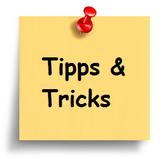 Tipps Tricks