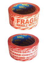 Fragile Printed Tape For Sealing Corrugated Boxes