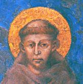 San Francesco di Assisi- affresco del  Cimabue