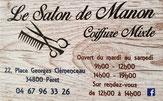 Coiffeuse Le salon de Manon à Péret (34).