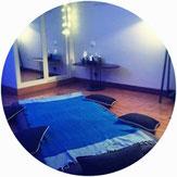 Massage bien-être sur futon
