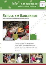Info-Sonderausgabe 02 Schule am Bauernhof