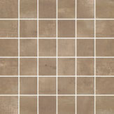 mosaico in ceramica color marrone