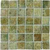 Mosaico Ceramiche Settecento effetto pietra verde