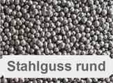 Stahlguss rund, Stahlkugeln, Kugelstrahlen