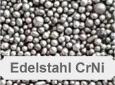 Chrom-Nickel, Edelstahlstrahlmittel, Chromstrahlmittel, Edelstahl