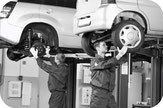 Temporärbüro für Automobil-Mechatroniker