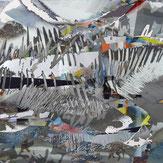 digital, Collage, silber, weiß, Kunst, Erlangen, Engels, Künstlerin, artist, silver, white
