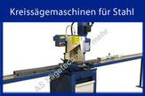 Kreissägemaschinen für Stahl