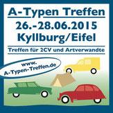 Düssel Ducks www.duesselducks.de A-Typen Treffen Kyllburg 2015