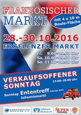 Düssel Ducks www.duesselducks.de Franzosenmarkt Erkelenz 2016