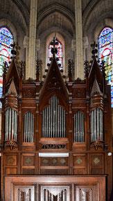 L'orgue des ateliers Merklin de Paris construit vers la fin du XIXe siècle