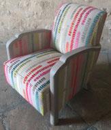 fauteuil Studio rénové par l'atelier de Sylvie