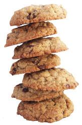 Cookies piles