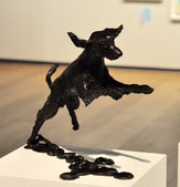 The Society's Sculpture Prize - Robert Mileham's 'Bella - Flying Spaniel II'