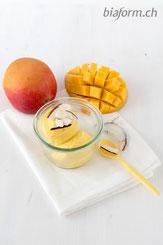 Foodblog Schweiz, Mango Eis, Rezept Mango Glace, Glace selber machen, Eis selber machen, gesundes Eiscreme