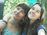 Annegret Pannewitz + Tochter Mariana, Algarve